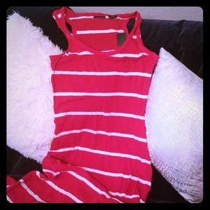 Sleeveless knit dress